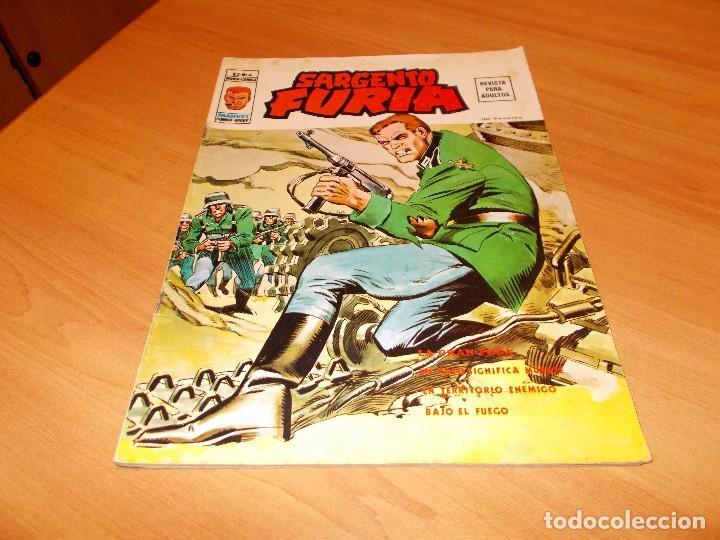 SARGENTO FURIA V.2 Nº 4 (Tebeos y Comics - Vértice - Furia)