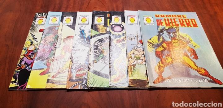 BASTANTE NUEVOS SUELTOS PREGUNTAR HOMBRE DE HIERRO COMPLETA MUNDICOMICS (Tebeos y Comics - Vértice - Surco / Mundi-Comic)