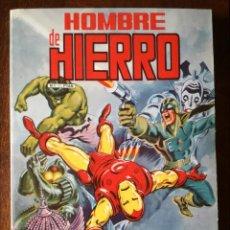 Cómics: EL HOMBRE DE HIERRO 1-2-3-4-5 EN COLOR RETAPADO 1983 NUEVO . Lote 139024818