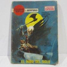 Cómics: SELECCIONES VERTICE DE AVENTURAS-EL ROBO DEL SIGLO-Nº 73. Lote 139148566