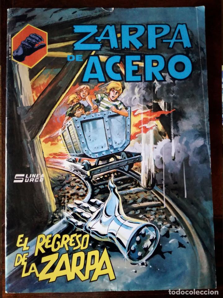 ZARPA DE ACERO Nº 6 SURCO MUNDI COMIC EL REGRESO DE LA ZARPA-1983 NUEVO (Tebeos y Comics - Vértice - Surco / Mundi-Comic)