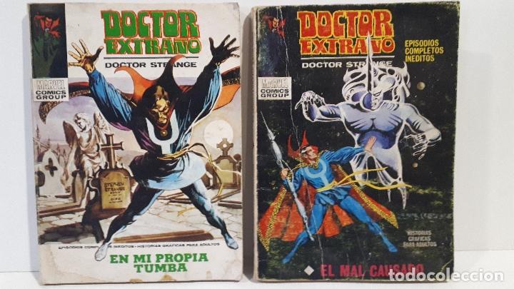 SELECCIONES VERTICE DE AVENTURAS-DOCTOR EXTRAÑO -Nº 9 Y 11 (Tebeos y Comics - Vértice - Otros)