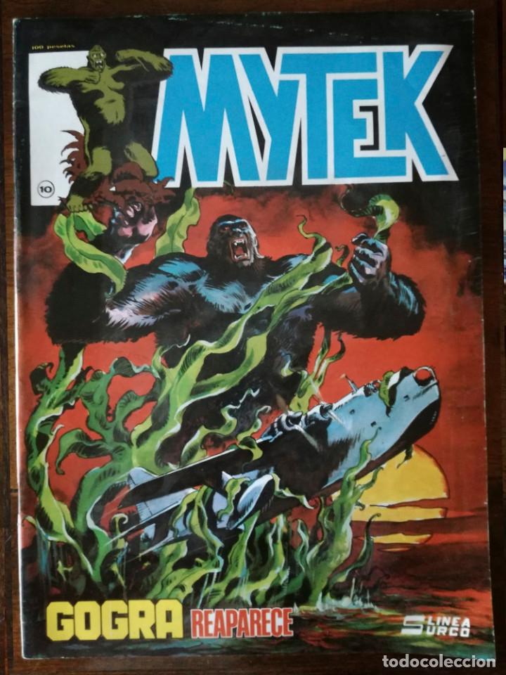 2 MITEK SIGUE CON LA LUCHA Nº 6-GOGRA REAPARECE Nº 10-SURCO MUNDICOMICS 1981 (Tebeos y Comics - Vértice - Surco / Mundi-Comic)