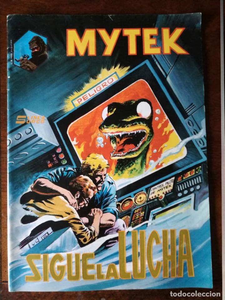 Cómics: 2 MITEK SIGUE CON LA LUCHA Nº 6-GOGRA REAPARECE Nº 10-SURCO MUNDICOMICS 1981 - Foto 2 - 128052255