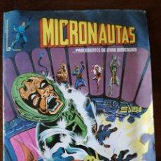 Cómics: MICRONAUTAS-N°5-LINEA SURCO MAS DURA ES LA CAIDA-1981 NUEVO. Lote 139184098