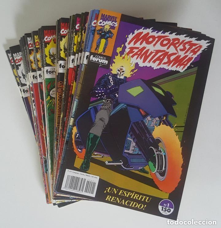 MOTORISTA FANTASMA 38 NÚMEROS (FORUM,1991-94) -COMPLETA- (Tebeos y Comics - Vértice - Super Héroes)