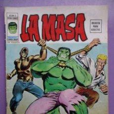 Cómics: LA MASA Nº 5 VERTICE VOLUMEN 2 ¡¡¡ NORMAL/BUEN ESTADO!!!!!!, . Lote 139225990