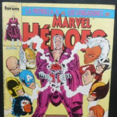 Cómics: COMIC MARVEL HERORES,COMICS FORUM,NUMERO 10,STAN LEE,1987. Lote 139569778