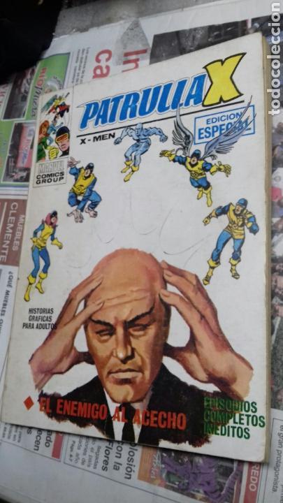 PATRULLA X. 7. 1974. EL ENEMIGO AL ACECHO (Tebeos y Comics - Vértice - Patrulla X)