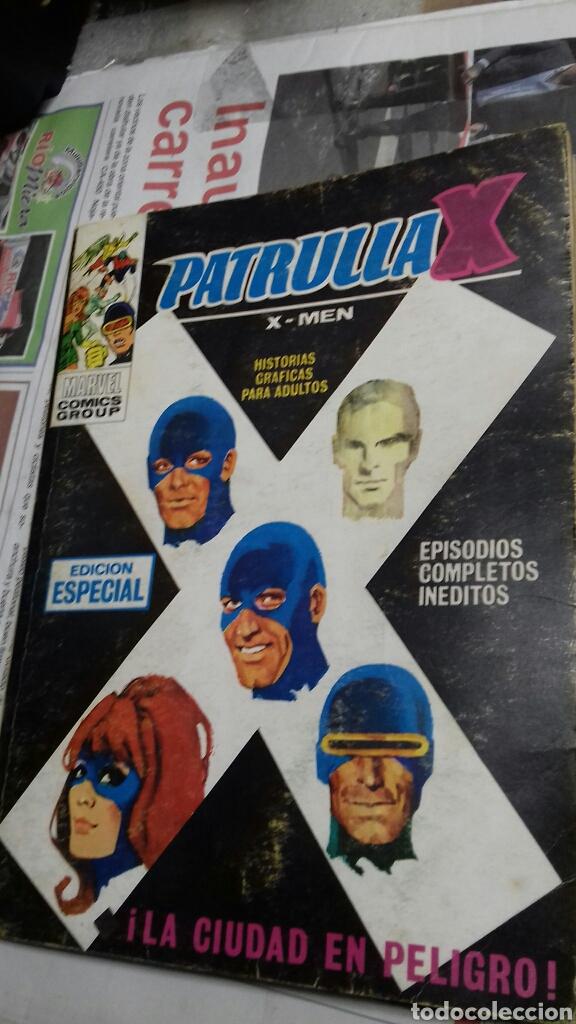 PATRULLA X. 10. 1974. LA CIUDAD EN PELIGRO (Tebeos y Comics - Vértice - Patrulla X)