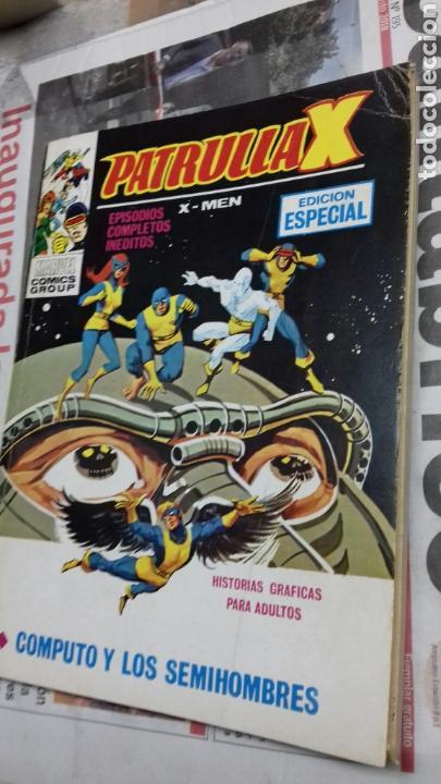 Cómics: Patrulla x. 21. 1974. Computo y los semihombres - Foto 3 - 139645954