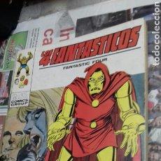 Cómics: VERTICE.LOS 4 FANTASTICOS.43. 1973. TODOS VICTIMAS. Lote 139648909