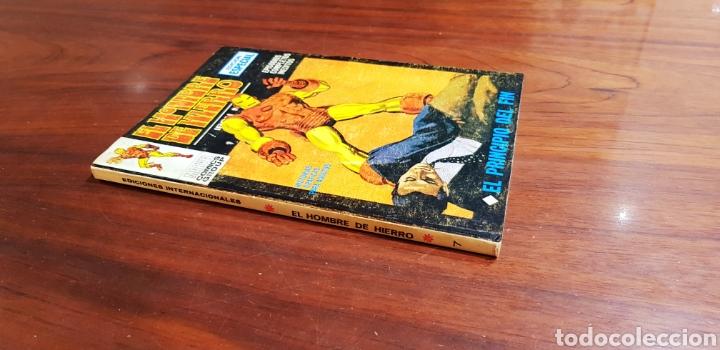 HOMBRE DE HIERRO 7 VERTICE (Tebeos y Comics - Vértice - Hombre de Hierro)