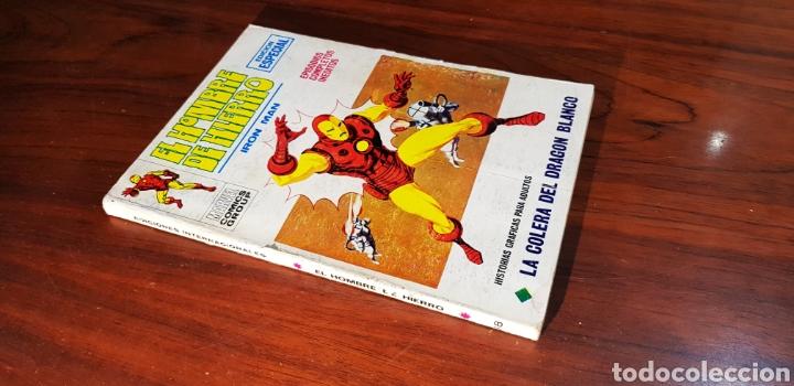 HOMBRE DE HIERRO 18 VERTICE (Tebeos y Comics - Vértice - Hombre de Hierro)