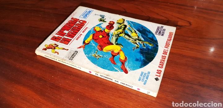 HOMBRE DE HIERRO 19 VERTICE BOLI EN PORTADA (Tebeos y Comics - Vértice - Hombre de Hierro)