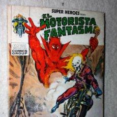 Cómics: EL MOTORISTA FANTASMA.(VERTICE TACO) COLECCIÓN SUPER-HEROES Nº4 (BE): CHOCA ESOS CINCO, SATÁN. Lote 140061458