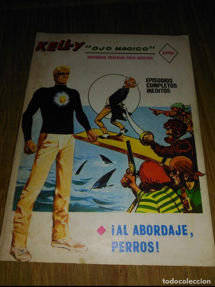 KELLY OJO MÁGICO Nº 18 TACO DE 128 PÁGINAS ÚLTIMO DE LA COLECCIÓN (Tebeos y Comics - Vértice - Fleetway)