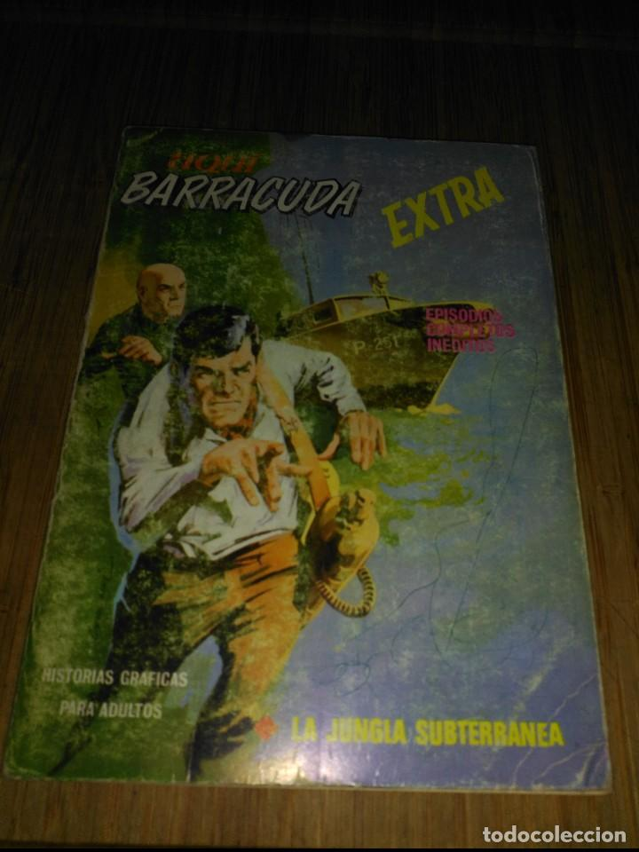 AQUI BARRACUDA Nº 4 TACO DE 128 PÁGINAS VERTICE (Tebeos y Comics - Vértice - Fleetway)