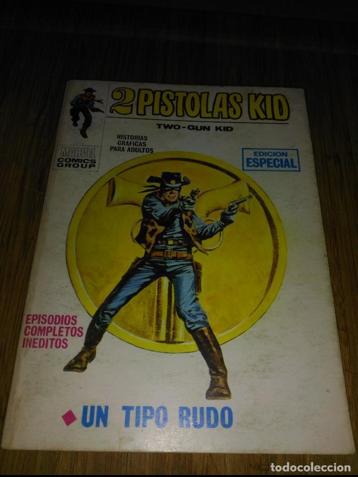 2 PISTOLAS KID Nº 2 128 PÁGINAS (Tebeos y Comics - Vértice - V.1)