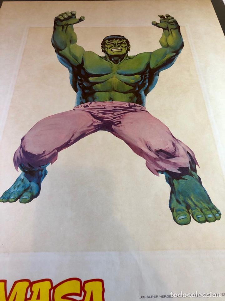 Cómics: ORIGINAL Cartel Poster LA MASA / Lopez Espi / Ediciónes Vértice / Marvel Comics/ 57x43 - Foto 17 - 140325326