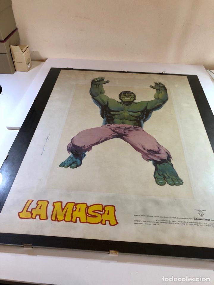 Cómics: ORIGINAL Cartel Poster LA MASA / Lopez Espi / Ediciónes Vértice / Marvel Comics/ 57x43 - Foto 18 - 140325326