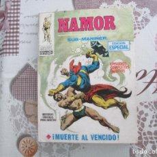 Cómics: NAMOR V 1 Nº 2 CON SU HOJA DE GALERIA DE PERSONAJES MARVEL. Lote 140370306