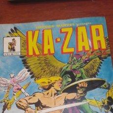 Cómics: KA..ZAR HEROES MARVEL N 3 PERDONAR A DEPHINE. Lote 140379674