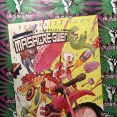 Cómics: MASACRE-GWEN. CRÉETELO #01. Lote 140399262