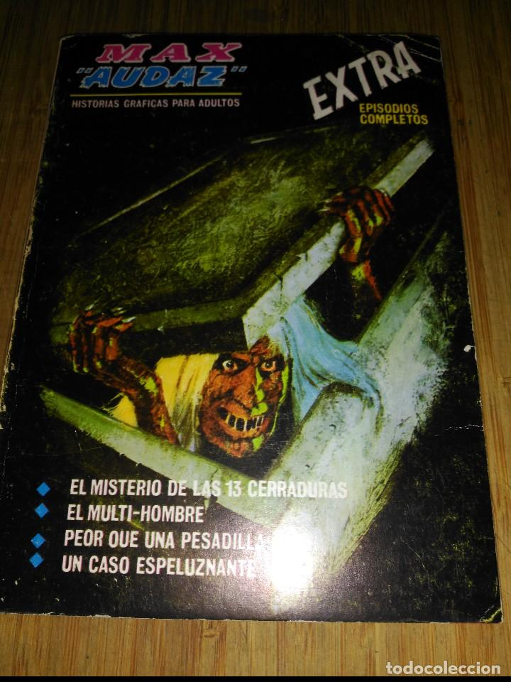 MAX AUDAZ Nº 3 (Tebeos y Comics - Vértice - Fleetway)