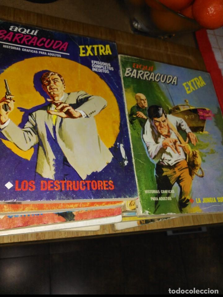 AQUÍ BARRACUDA 16 NÚMEROS COLECCION COMPLETA BUEN ESTADO VERTICE (Tebeos y Comics - Vértice - Fleetway)