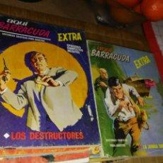 Cómics: AQUÍ BARRACUDA 16 NÚMEROS COLECCION COMPLETA BUEN ESTADO VERTICE. Lote 140506122