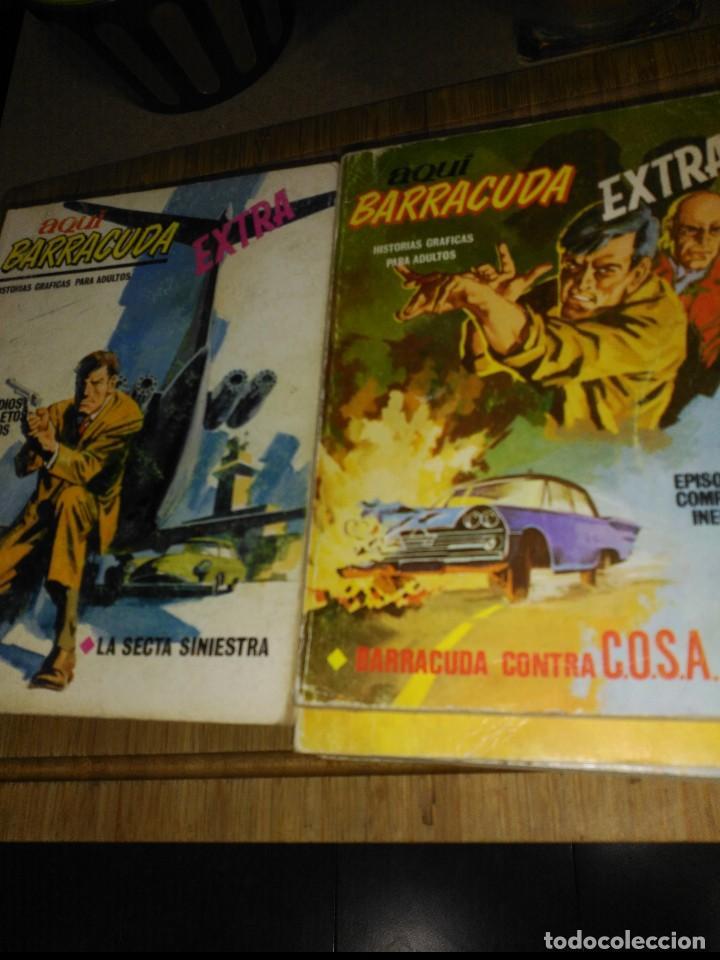 Cómics: Aquí Barracuda 16 Números COLECCION COMPLETA buen estado VERTICE - Foto 3 - 140506122