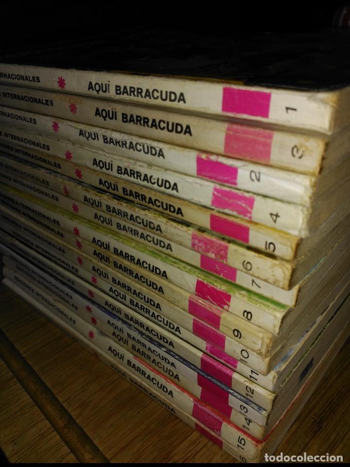 Cómics: Aquí Barracuda 16 Números COLECCION COMPLETA buen estado VERTICE - Foto 5 - 140506122