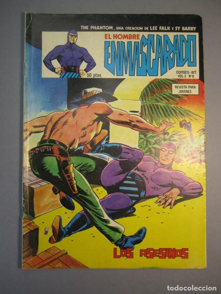 HOMBRE ENMASCARADO, EL (1980, VERTICE) -VOL. 2- 8 · 30-V-1980 · LOS ASESINOS (Tebeos y Comics - Vértice - Hombre Enmascarado)