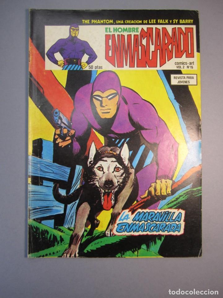 HOMBRE ENMASCARADO, EL (1980, VERTICE) -VOL. 2- 15 · 1980 · LA MARAVILLA ENMASCARADA (Tebeos y Comics - Vértice - Hombre Enmascarado)