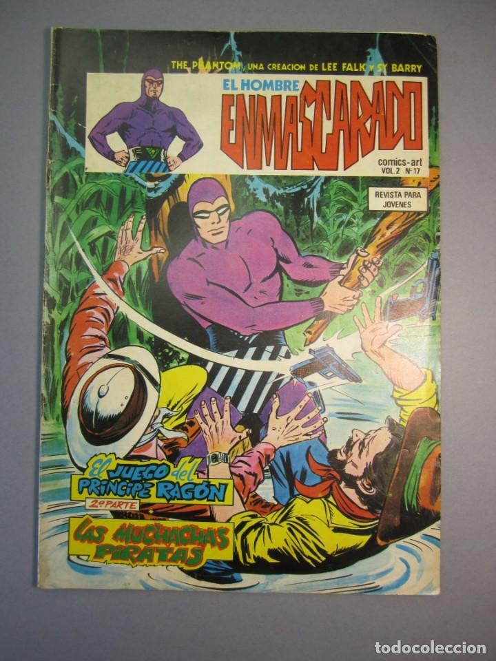 HOMBRE ENMASCARADO, EL (1980, VERTICE) -VOL. 2- 17 · 1980 · EL JUEGO DEL PRINCIPE RAGON (2ª PARTE) - (Tebeos y Comics - Vértice - Hombre Enmascarado)