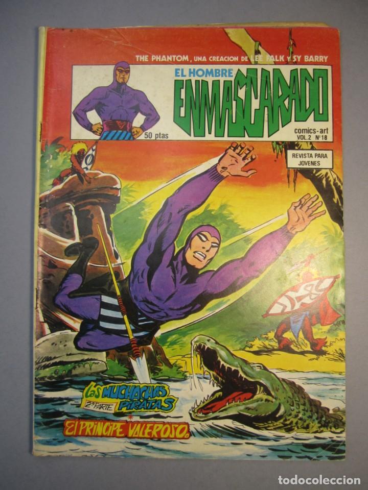 HOMBRE ENMASCARADO, EL (1980, VERTICE) -VOL. 2- 18 · 1980 · LAS MUCHACHAS PIRATAS (2ª PARTE) - EL PR (Tebeos y Comics - Vértice - Hombre Enmascarado)