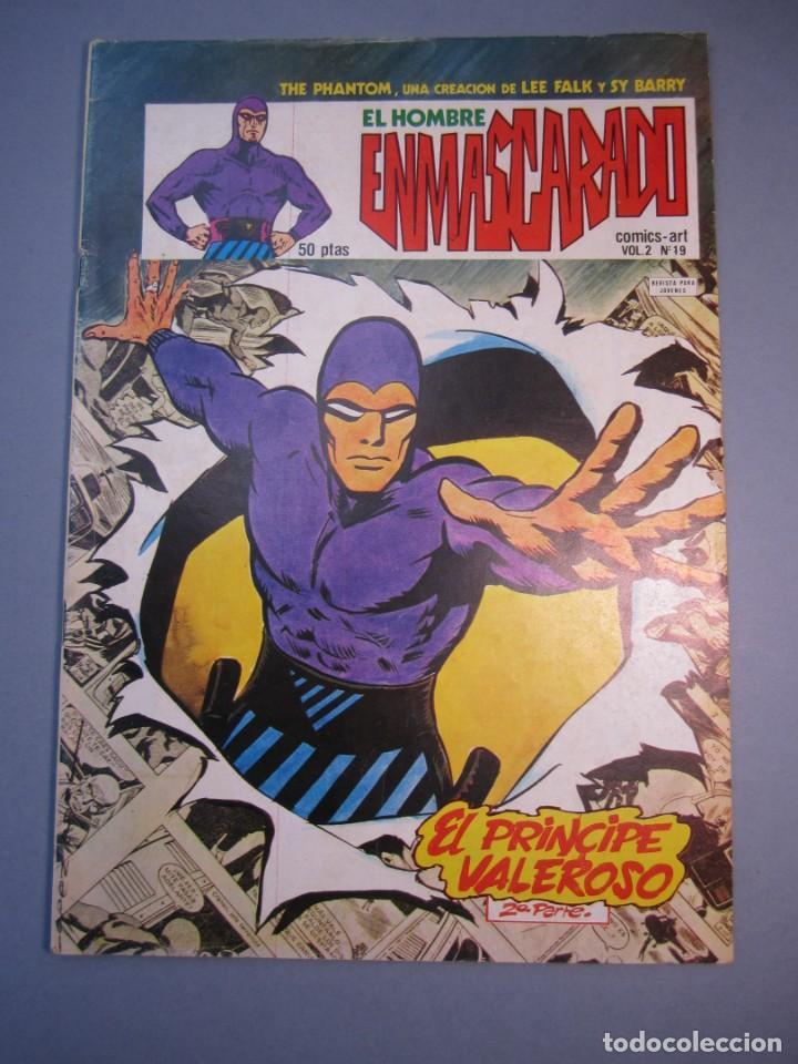 HOMBRE ENMASCARADO, EL (1980, VERTICE) -VOL. 2- 19 · 1980 · EL PRINCIPE VALEROSO (2ª PARTE) (Tebeos y Comics - Vértice - Hombre Enmascarado)