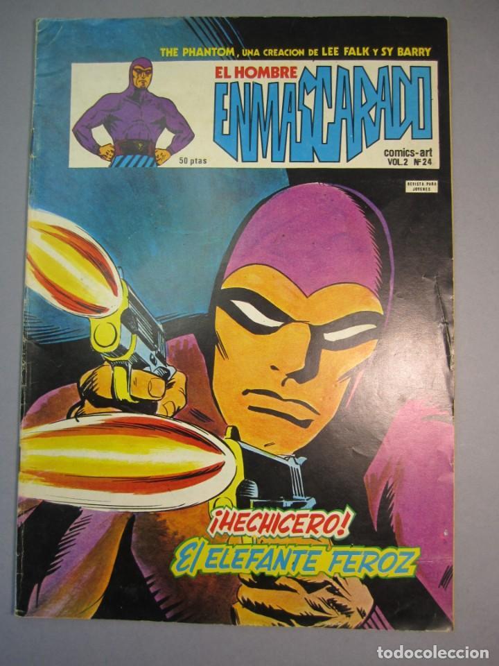 HOMBRE ENMASCARADO, EL (1980, VERTICE) -VOL. 2- 24 · 1981 · HECHICERO - EL ELEFANTE FEROZ (Tebeos y Comics - Vértice - Hombre Enmascarado)