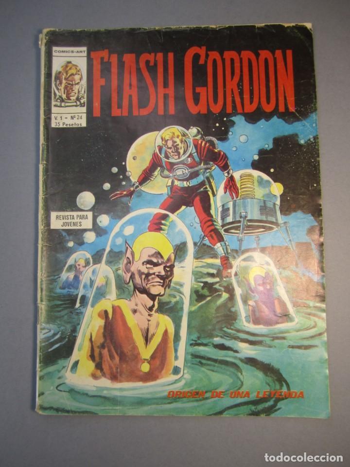 FLASH GORDON (1974, VERTICE) -V.1- 24 · 1975 · FLASH GORDON (Tebeos y Comics - Vértice - Flash Gordon)