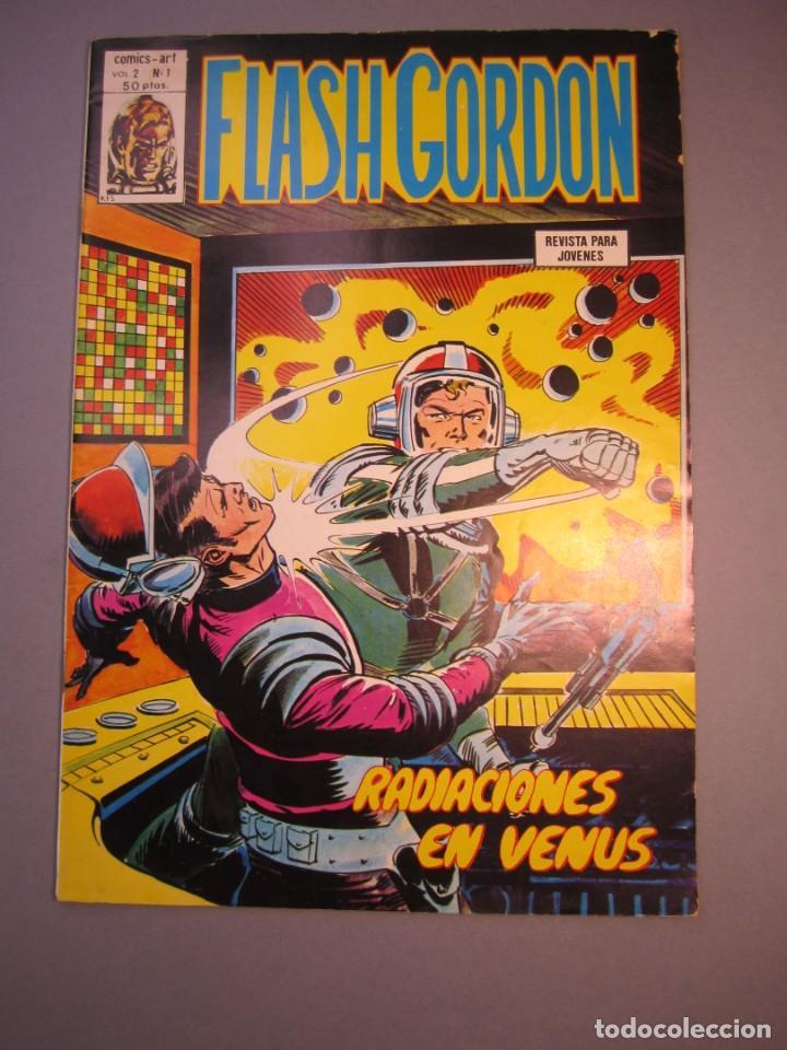 FLASH GORDON (1980, VERTICE) -V.2- 1 · 15-II-1980 · RADIACIONES EN VENUS (Tebeos y Comics - Vértice - Flash Gordon)