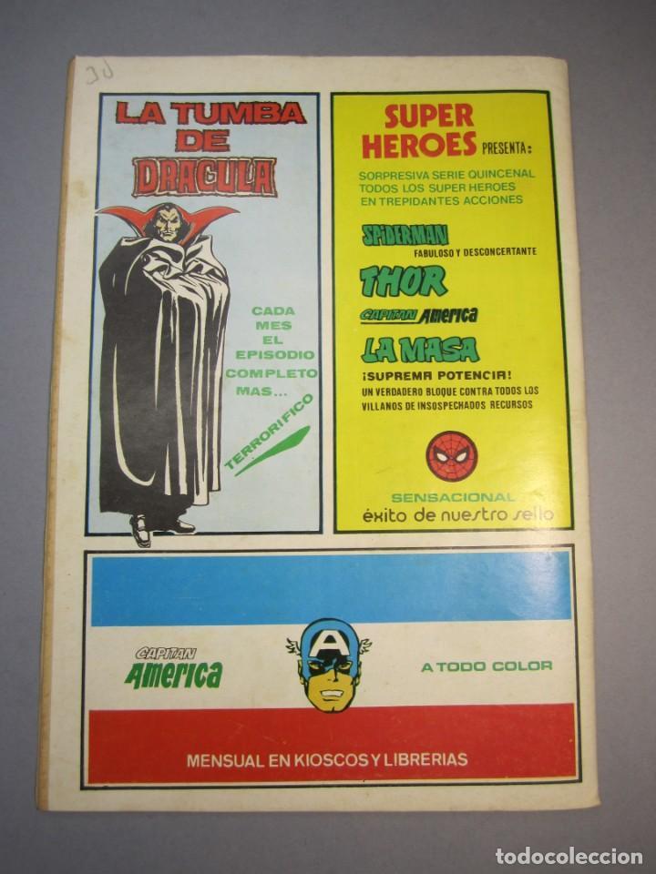Cómics: FLASH GORDON (1980, VERTICE) -V.2- 8 · 30-V-1980 · LOS VIAJEROS DEL TIEMPO / SATÉLITE ACADEMIA DEL E - Foto 2 - 140817030