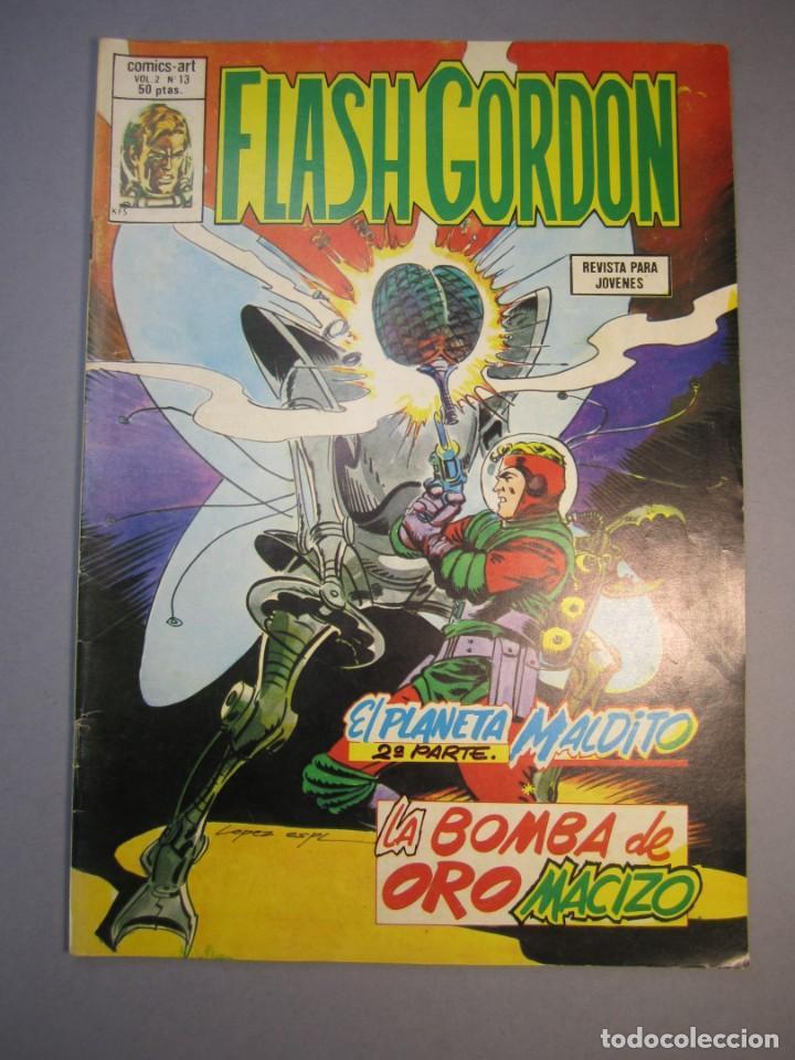 FLASH GORDON (1980, VERTICE) -V.2- 13 · 15-IX-1980 · EL PLANETA MALDITO (2ª PARTE) / LA BOMBA DE ORO (Tebeos y Comics - Vértice - Flash Gordon)
