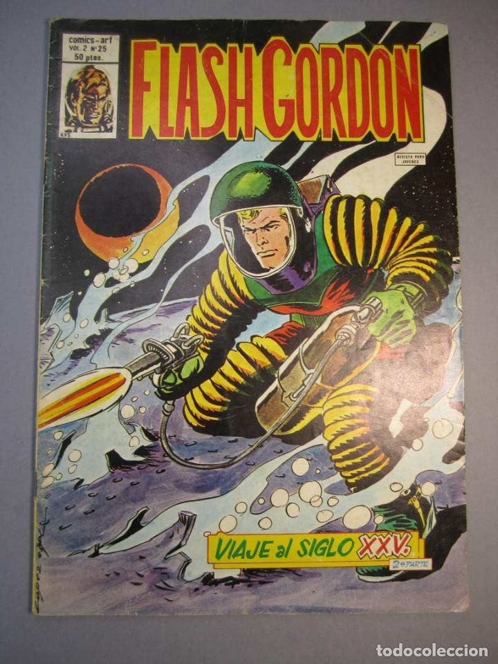 FLASH GORDON (1980, VERTICE) -V.2- 25 · 15-III-1981 · VIAJE AL SIGLO XXV (2ª PARTE) (Tebeos y Comics - Vértice - Flash Gordon)
