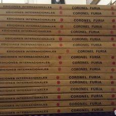 Cómics: COMICS - CORONEL FURIA - VOL. 1 - VERTICE - COLECCION COMPLETA - DIECISIETE NUMEROS. Lote 140935726