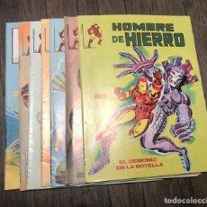 Cómics: EL HOMBRE DE HIERRO. N°: 1,2,3,4,5,6 Y 7. SURCO. Lote 140986608