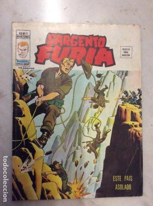 SARGENTO FURIA 21 V.2 MARVEL COMICS GROUP MUNDI-COMICS (Tebeos y Comics - Vértice - Furia)
