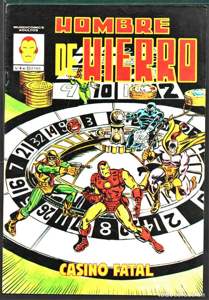 TEBEOS-COMICS CANDY - HOMBRE DE HIERRO - 4 - MUNDICOMICS - - RARO *AA99 (Tebeos y Comics - Vértice - Hombre de Hierro)