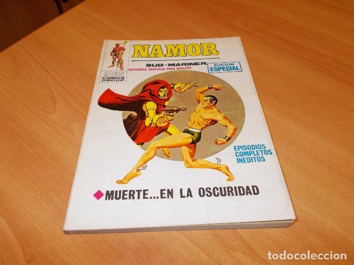 NAMOR V.1 Nº 9 CASI EXCELENTE (Tebeos y Comics - Vértice - V.1)