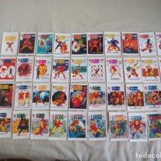 Cómics: HOMBRE DE HIERRO IRON MAN. COLECCION DE 40 PORTADAS LOPEZ ESPI PARA VERTICE ED. LIMITADA TRADIG CARD. Lote 141799976
